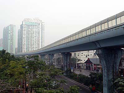 廈門快速公交(BRT)の専用道路