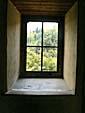 振成楼の壁と窓