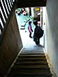 振成楼の階段