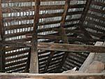 承啓楼の屋根の梁