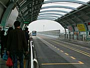 BRTのプラットホーム