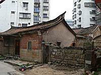 同安に残る古い家屋