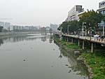 同安の西渓という川
