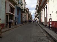 ハバナの住宅街の一角