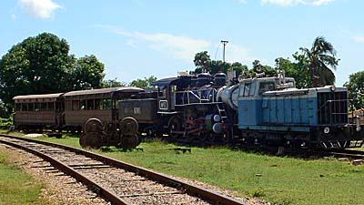 1919年に製造されたトリニダーの蒸気機関車