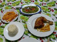 カサパティクールの夕食