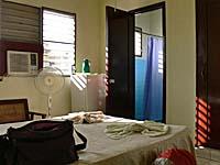 宿泊した部屋。広くて快適。
