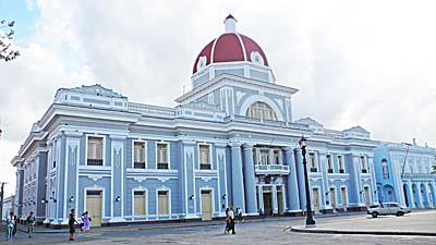 シエンフエゴスの市庁舎