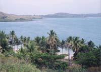 島の向こうは禁止