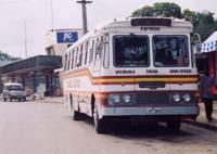 スバ行きのバス