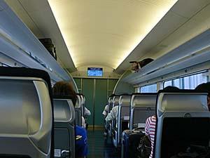 京成スカイアクセス 新型スカイライナー 車内