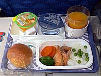 成田-仁川 機内食