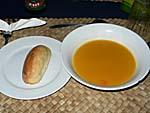 夕食:野菜スープ