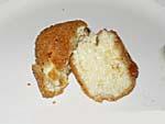 パルメザンチーズのフライ