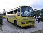オーサムアドベンチャーの送迎バス