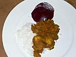 メルキュールナンディのバーベキューナイトの食事3:ポテトカリー
