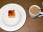 メルキュールナンディのバーベキューナイトの食事4:デザートのケーキ