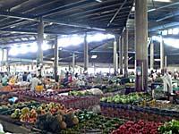 ラウトカ市場全景