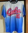 ベースボールチームのTシャツ