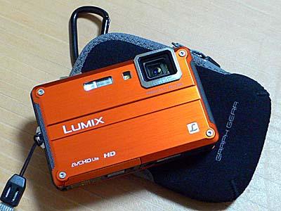 新しく購入した防水デジカメ Lumix ft2