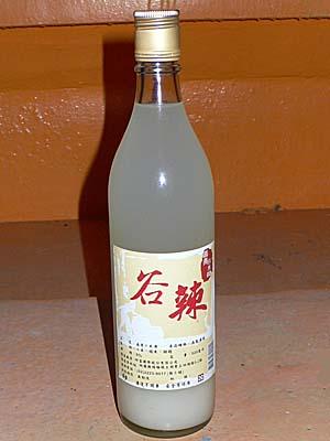 粟で作ったどぶろく酒
