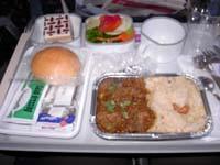 インディアンエアライン機内食