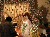 花嫁だけでパチリ