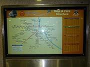 デリーメトロ路線図