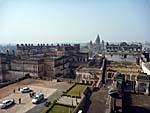 オルチャ宮殿ジャハンギールマハルから町を見下ろす