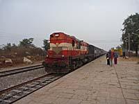 インドの国鉄JHS KURJ PASS