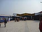 終点のカジュラホ駅