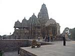 カジュラホの寺院の写真