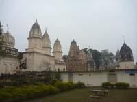 ジャイナ教寺院外から見たところ
