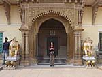 ラームナガル城城内の入り口