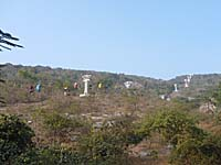 多宝山へのリフト