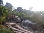霊鷲山の岩山2