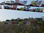 霊鷲山から見たストゥーパ