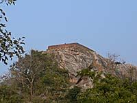 霊鷲山を遠くから見上げた写真