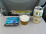 日本航空 飲み物とつまみ