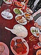 コースターコテージ 初日の晩ご飯