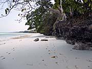 パサールパンジャン北部のビーチ