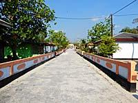 幹線道路から村までの道