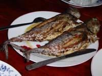 夕食のイカンバカール