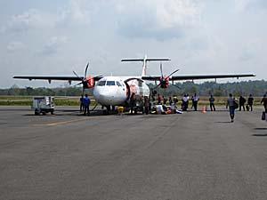 ライオン航空 アンボン空港で撮影