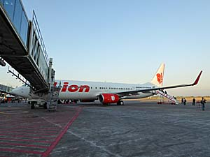 ライオン航空 マカッサル空港で撮影
