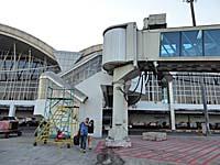 マカッサル空港の階段