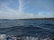 ンガフ島沖の洋上