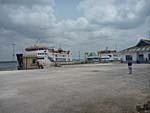 中小型船舶が発着する港