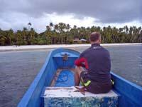 ボートに同乗したイギリス人