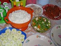 デリマコテージのママのご飯